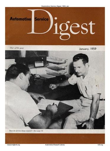 Automotive Service Digest 1959 01 Jan