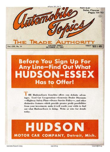 Auto Topics | 1931 Oct 17