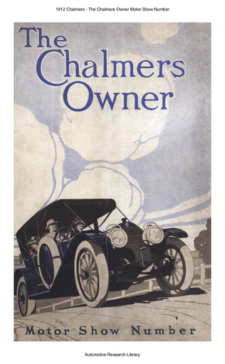 1912 Chalmers   The Owner Motor Show Number (51pgs)
