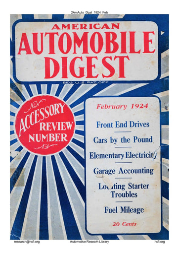 American Automobile Digest - 1924 February
