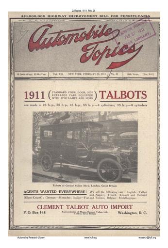 Auto Topics | 1911 Feb 25