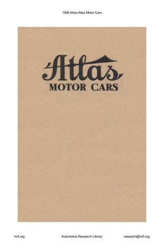 1908 Atlas (20pgs)