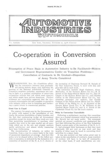 Auto Industries 1918 11 21