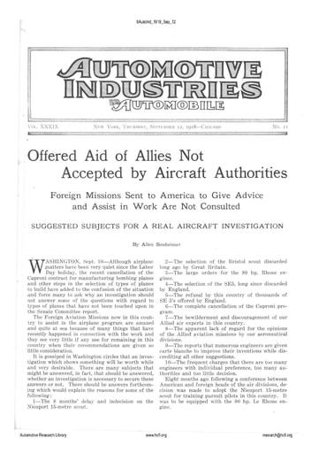 Auto Industries 1918 09 12