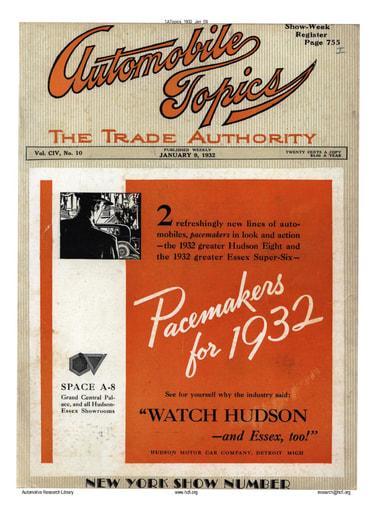 Auto Topics | 1932 Jan 09
