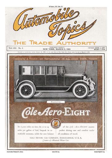 Auto Topics | 1921 Mar 05