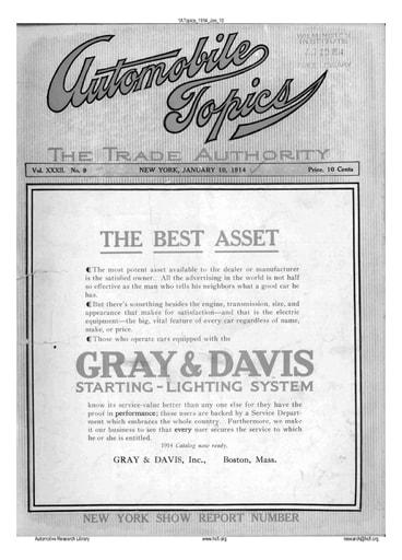 Auto Topics | 1914 Jan 10