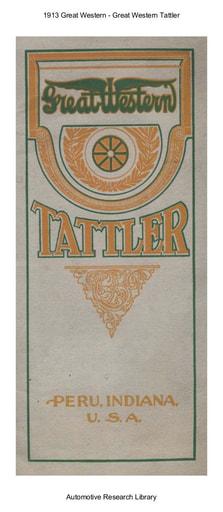 1913 Great Western   Tattler (19pgs)