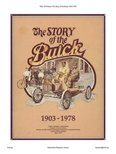 1903 1978 Buick   The Story of the Buick (20pgs)