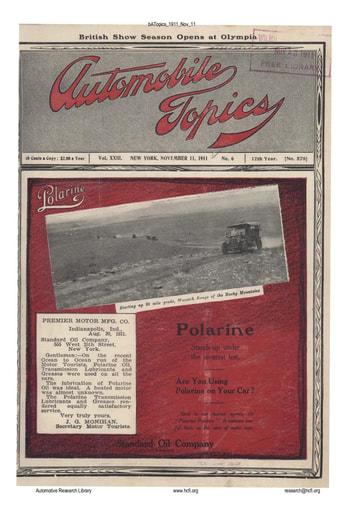 Auto Topics | 1911 Nov 11