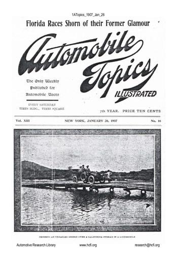 Auto Topics | 1907 Jan 26