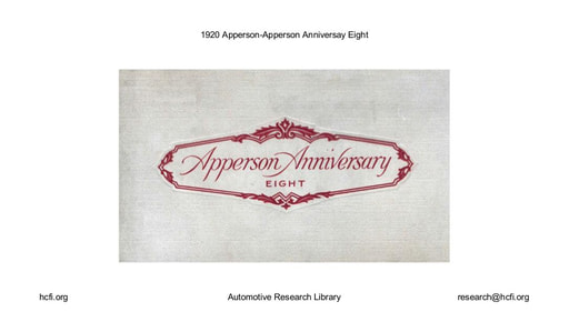 1920 Apperson   Anniversay Eight (9pgs)