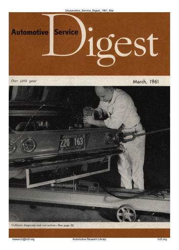 Automotive Service Digest 1961 03 Mar