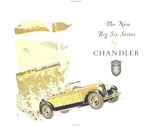 1927 Chandler   The New Big Six Series (4pgs)