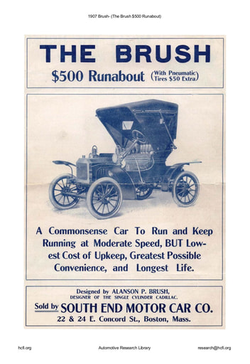 1907 Brush   The $500 Runabout (4pgs)