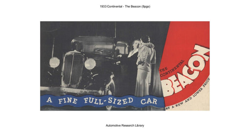 1933 Continental   The Beacon (8pgs)