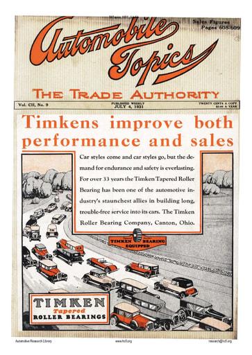Auto Topics | 1931 Jul 04