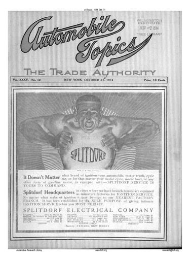 Auto Topics | 1914 Oct 31