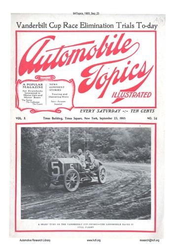 Auto Topics | 1905 Sep 23