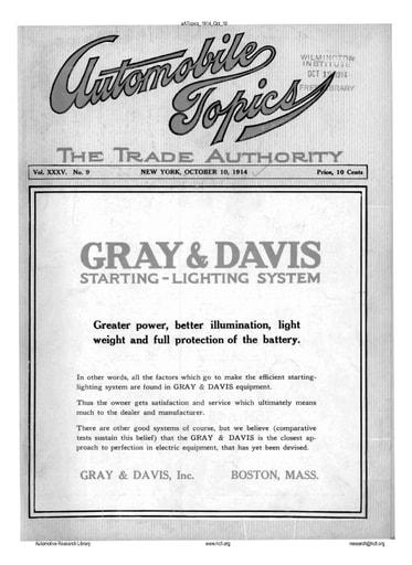 Auto Topics | 1914 Oct 10