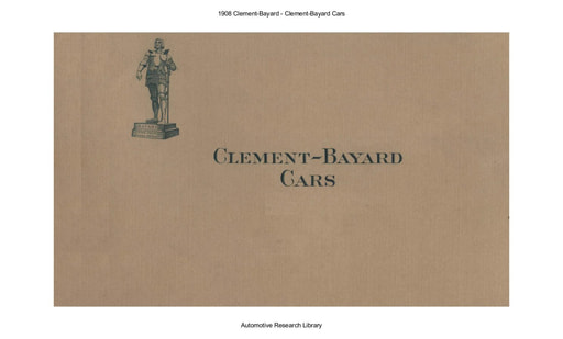 1908 Clement Bayard (17pgs)