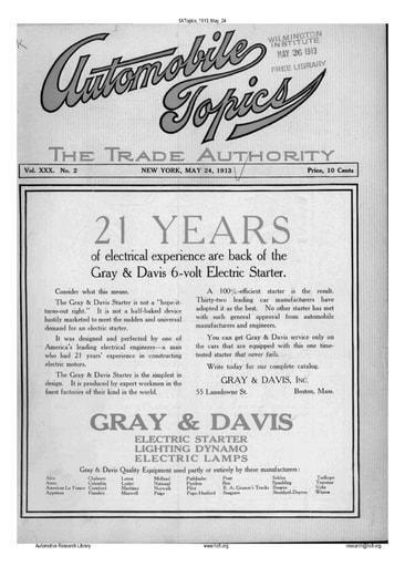 Auto Topics | 1913 May 24