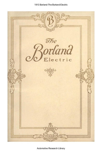 1913 Borland Electric (19pgs)