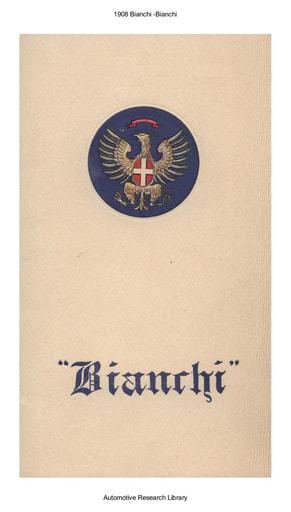 1908 Bianchi (17pgs)
