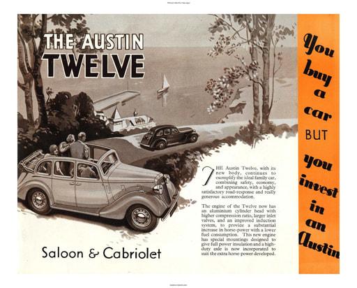 1938 Austin British The Twelve (6pgs)