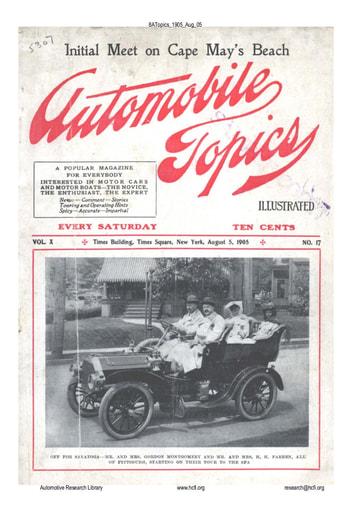 Auto Topics | 1905 Aug 05