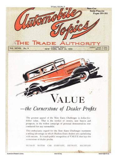 Auto Topics   1930 May 31