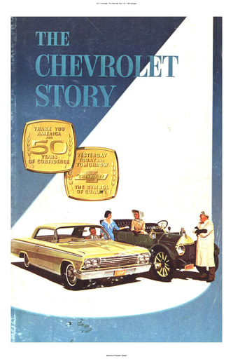 1911 Chevrolet   The Chevrolet Story 1911 1962 (84pgs)