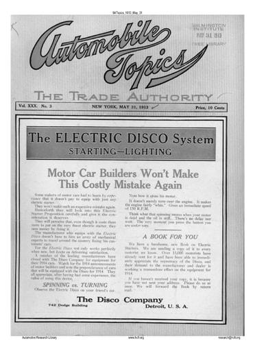 Auto Topics | 1913 May 31