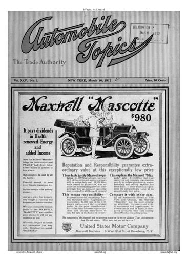 Auto Topics | 1912 Mar 16