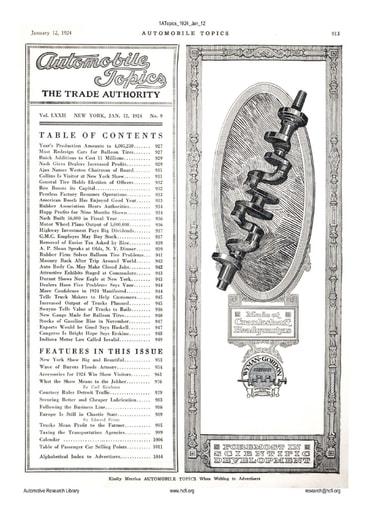 Auto Topics | 1924 Jan 12