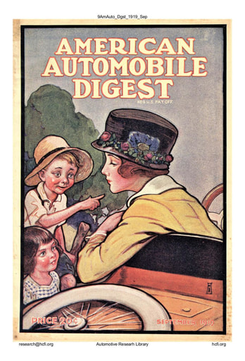 American Automobile Digest - 1919 September