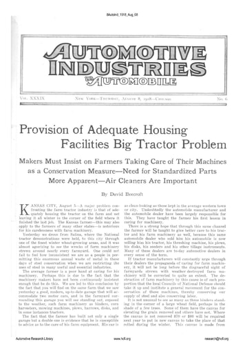 Auto Industries 1918 08 08