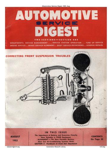 Automotive Service Digest 1953 08 Aug