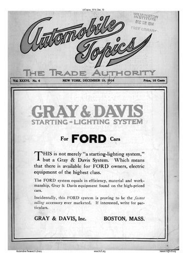 Auto Topics | 1914 Dec 19