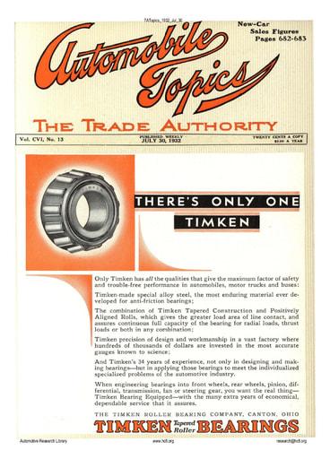 Auto Topics | 1932 Jul 30