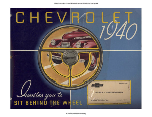 1940 Chevrolet   Sit Behind The Wheel (71pgs)