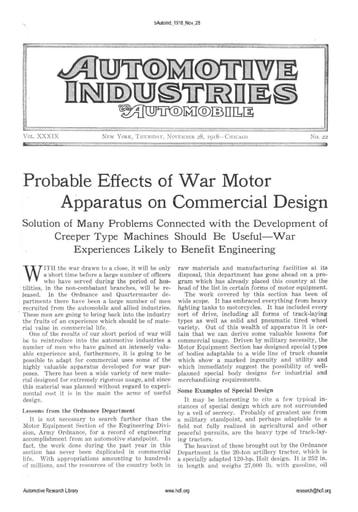 Auto Industries 1918 11 28