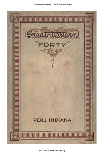 1913 Great Western   Forty (27pgs)