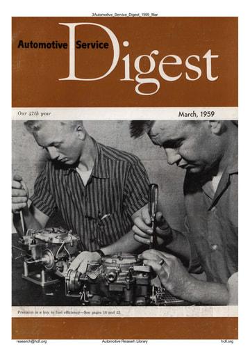 Automotive Service Digest 1959 03 Mar