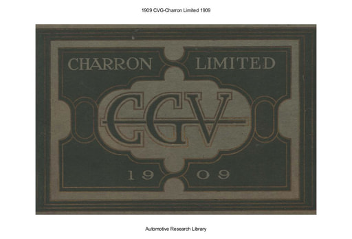 1909 CVG   Charron Limited (36pgs)