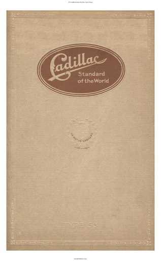 1916 Cadillac   Standard of the World  Type 53 (33pgs)