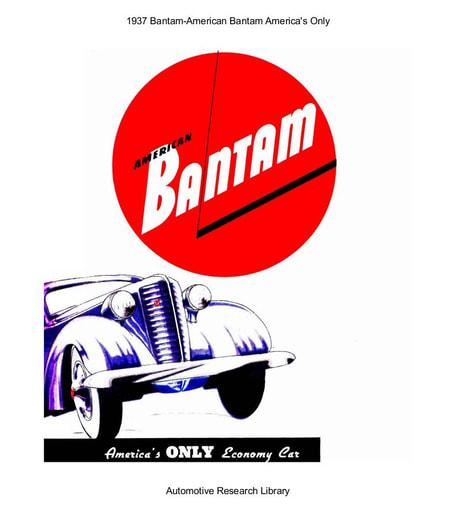 1937 Bantam   America's Only (10pgs)