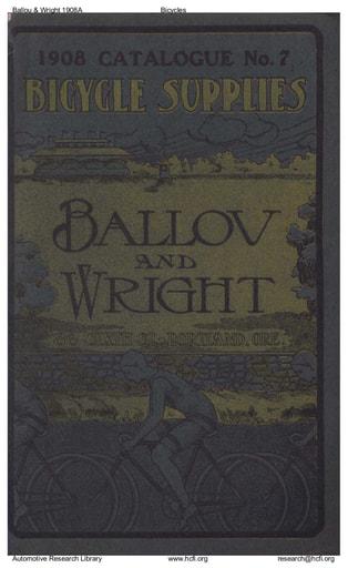 1908 Ballou & Wright