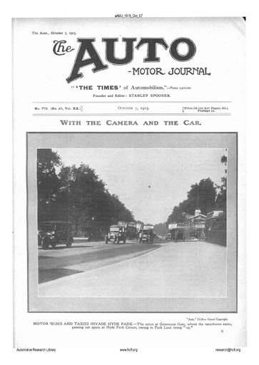 Auto Motor Journal | 1915 Oct 07