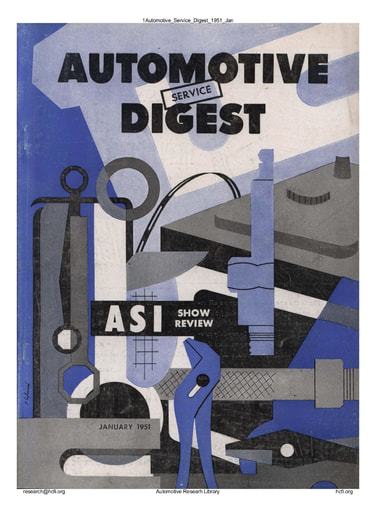 Automotive Service Digest 1951 01 Jan